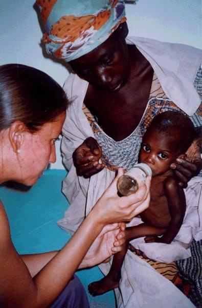 Prise en charge d'un enfant dénutri.