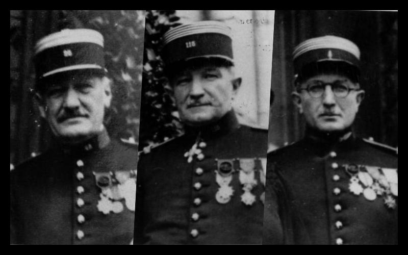 Jean-Baptiste, Jean-François et François-Jules Estremé.