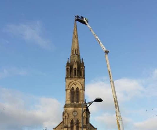Une expertise du clocher avait été réalisée en octobre 2019.