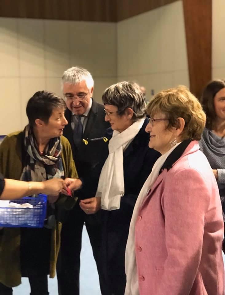 Parmi les spectateurs, la sénatrice Laurence Harribey et le sénateur Hervé Gillé, la conseillère départementale Sophie Piquemal et la première adjointe au maire Anne-Marie Goisnard.