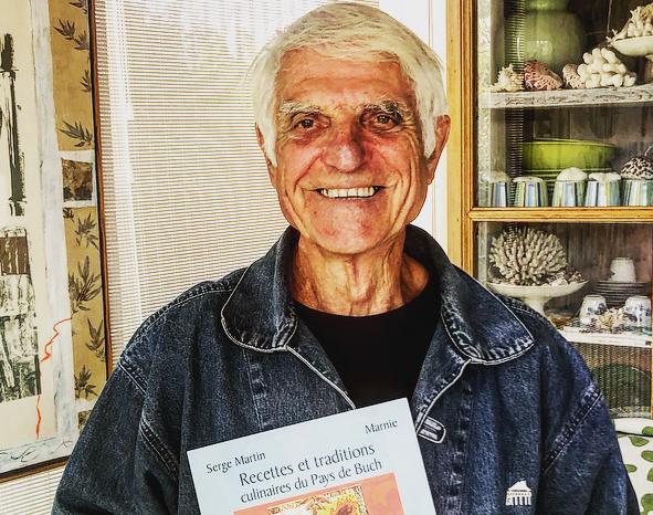 Serge Martin souhaite alerter autour de l'avenir de l'étang de Lugos.