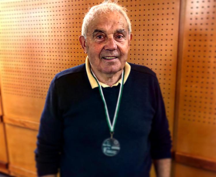 En décembre dernier, Gérard Souleyreau avait reçu une médaille honorifique en tant que fondateur du HCBB.