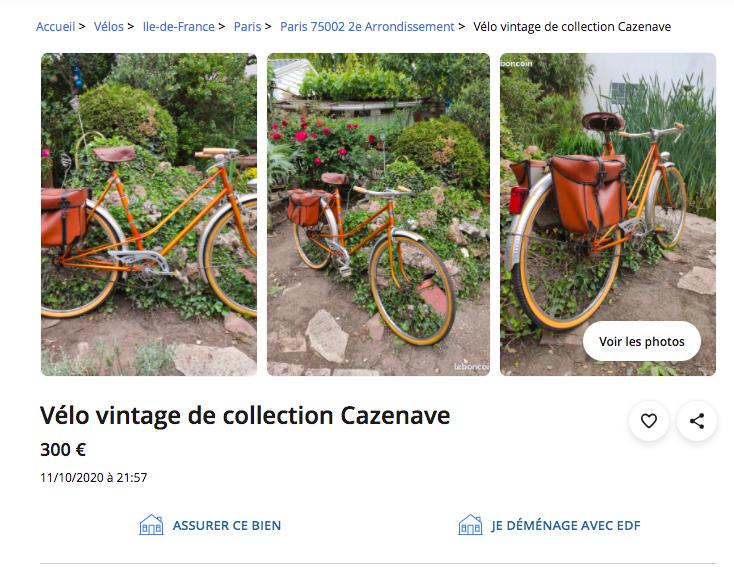 Capture d'écran du site leboncoin.fr