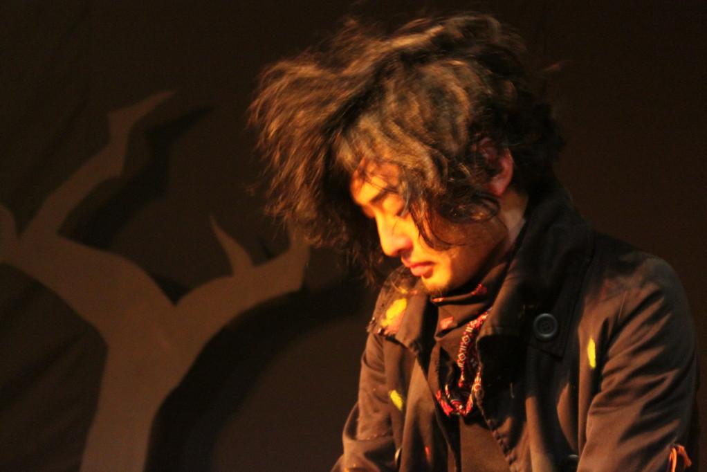 【おまけ2】毛玉みたいだから髪の毛盛るのやめてくださいと言ったのに盛りたがる岩田さんとの攻防は千秋楽まで続きました。