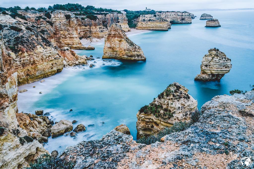 Praia da Marinha, Januar 2020