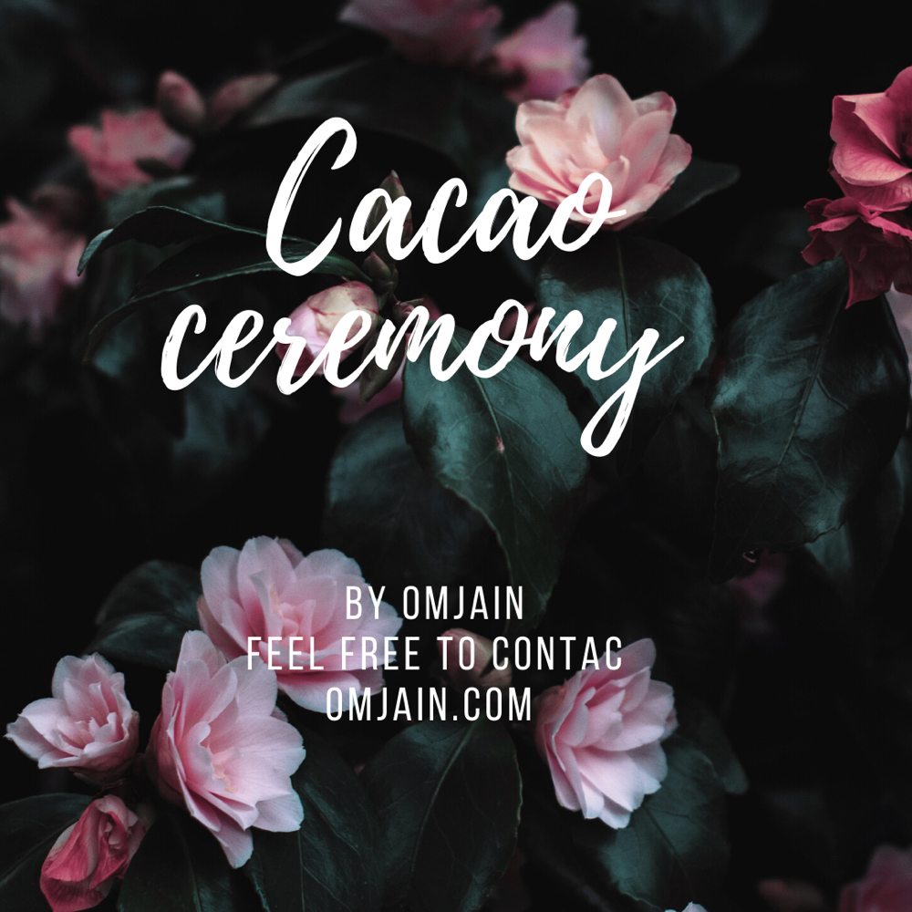 Private Cacao ceremony by OmJain