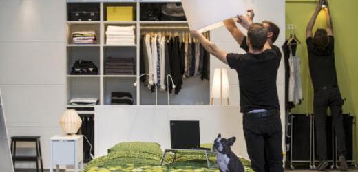 Auch Ikea wird in der Schweiz von den Angestellten gut bewertet. Platz 2.