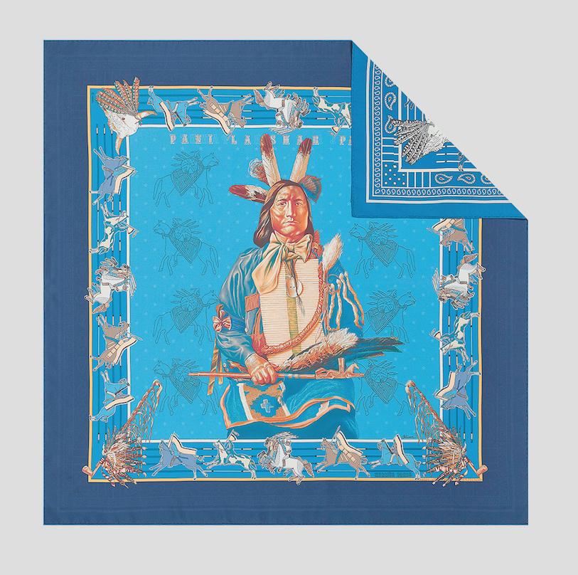 Wende-Seidenkarree von Hermès