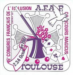 Autocollant XVème congrès par Satalys - Collection Arh Toulouse