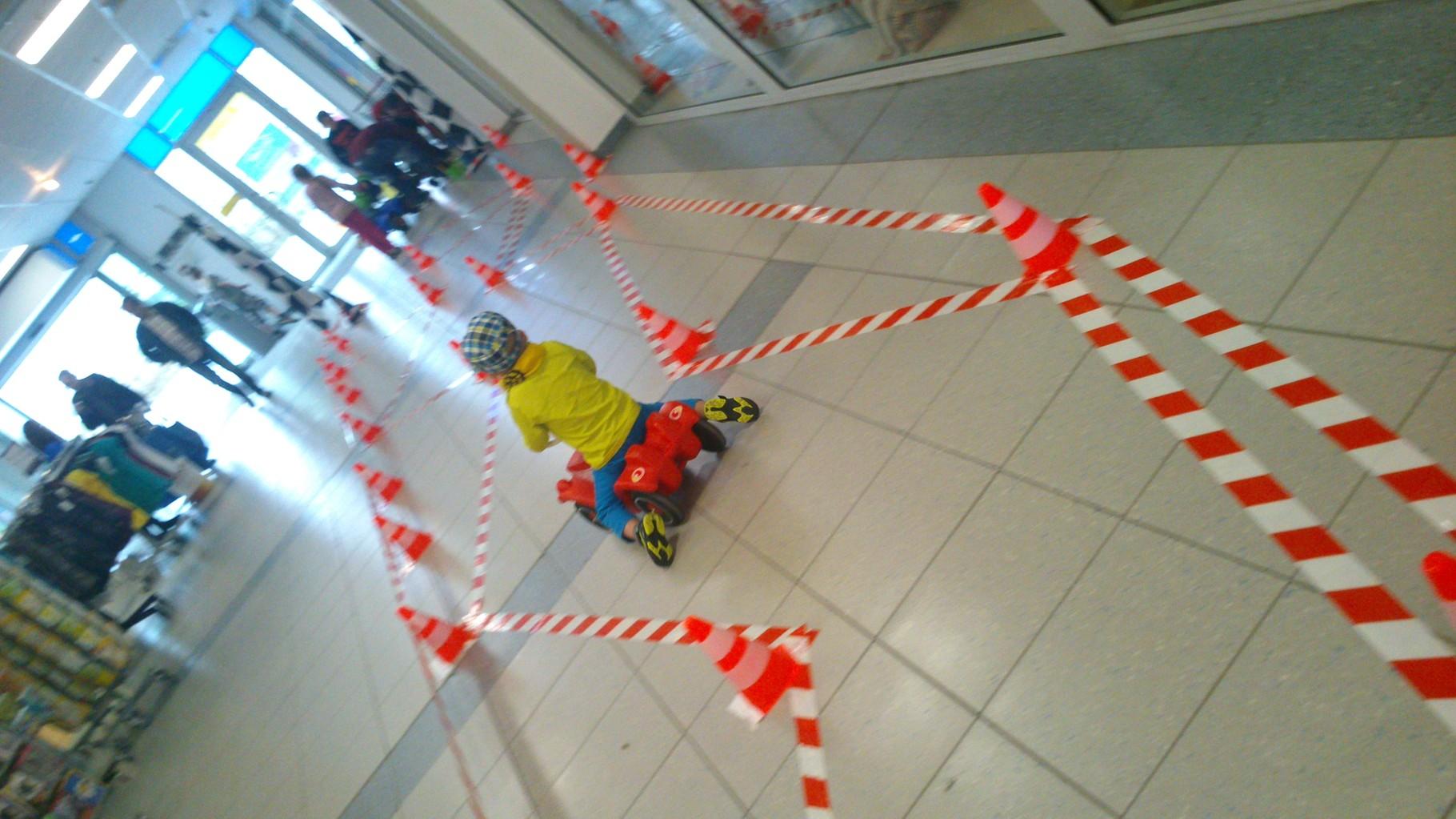 Kinderpromotion Einkaufscenter