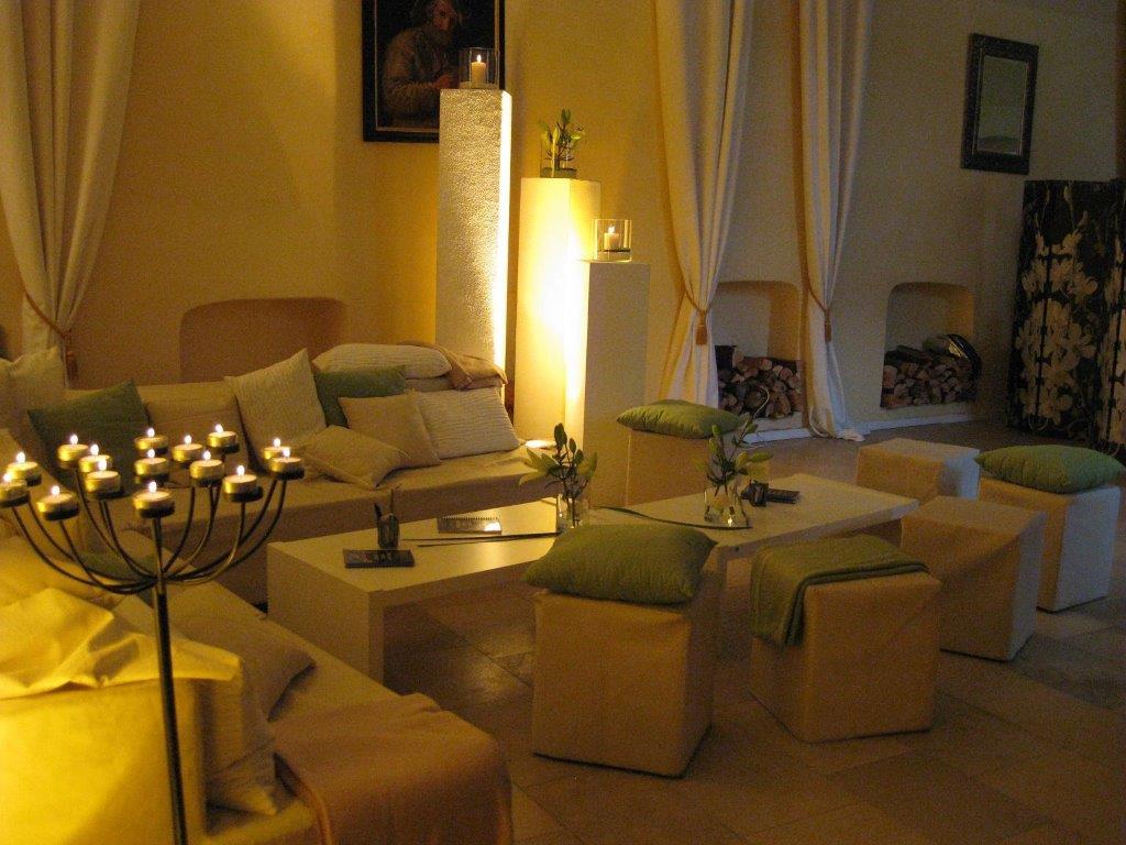 Lounge im Gelben Saal