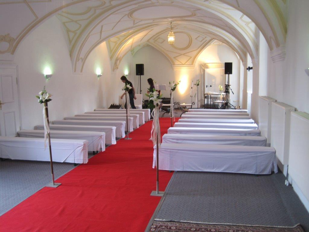 Freie Trauung im Barocksaal
