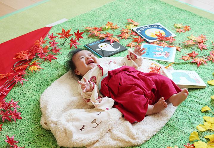 レンタルスペース。赤ちゃんの撮影会。