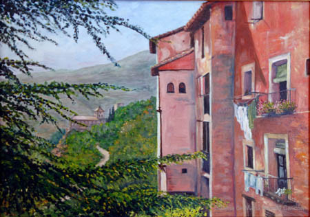 54. ALBARRACÍN - Óleo sobre lienzo - 65x46 - 900€