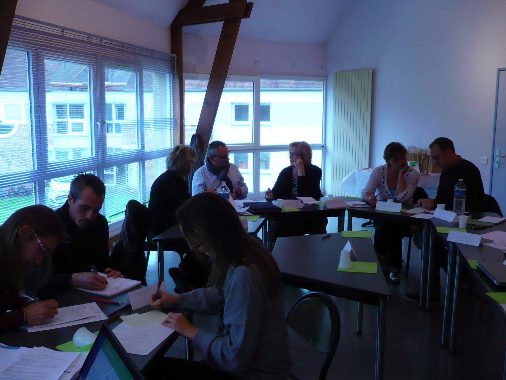 Groupe de travail du matin  ©Unat Centre