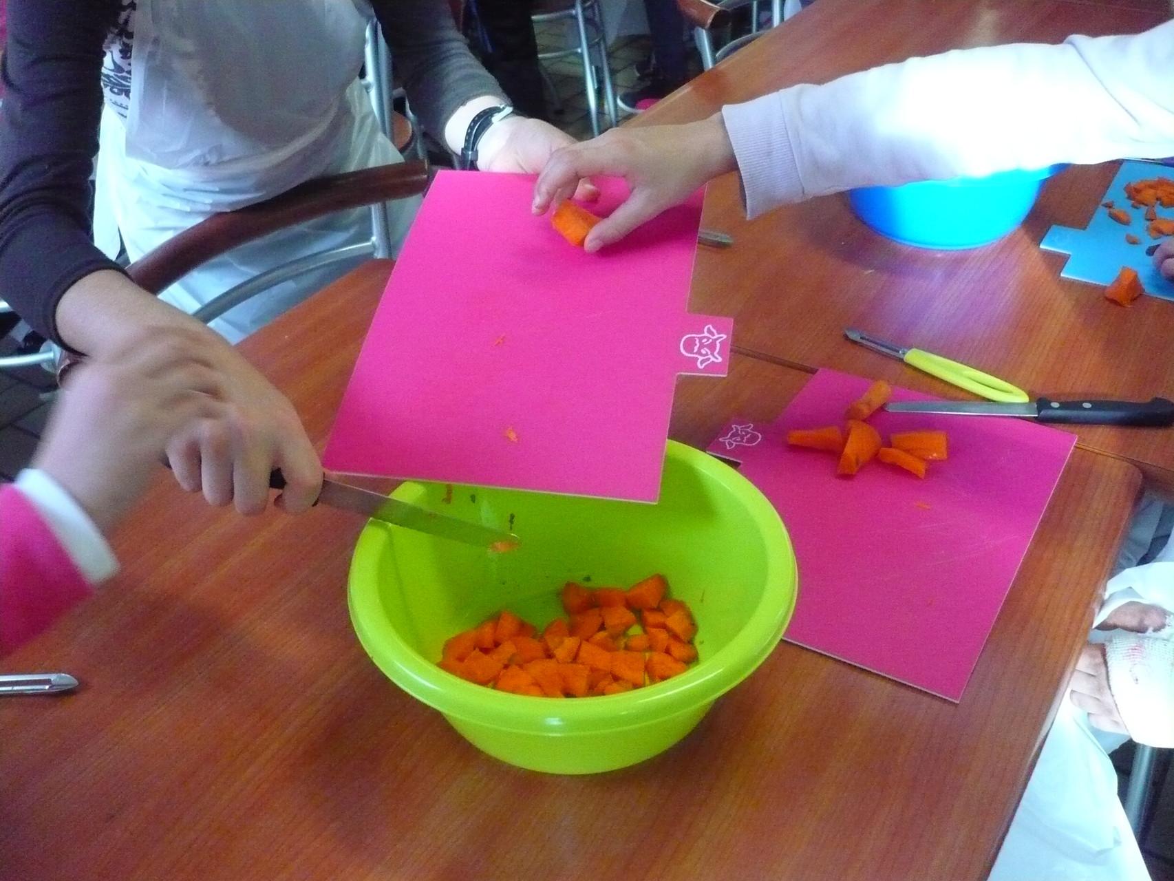 On récupère tous les carottes © UNAT Centre