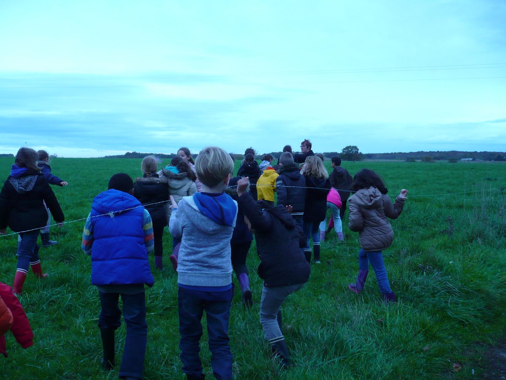 C'est parti pour découvrir les herbes des pâturages © UNAT Centre