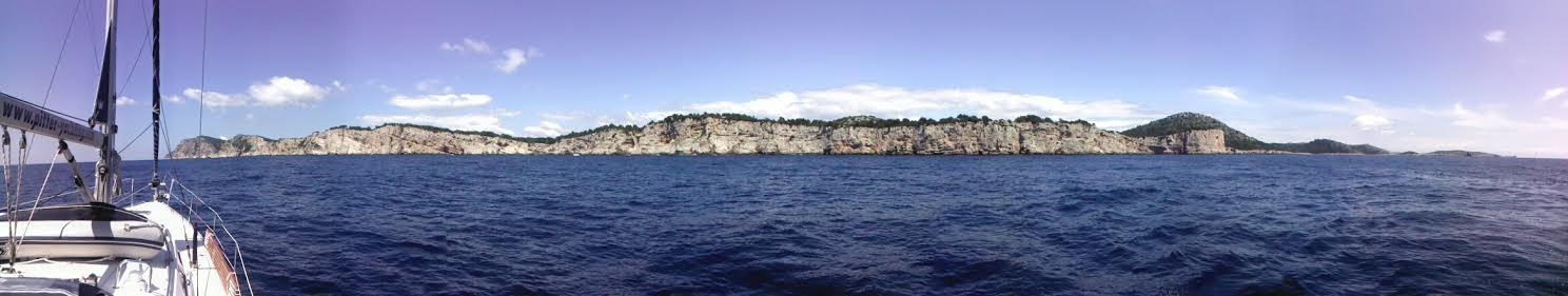 Steilküste von Dugi Otok
