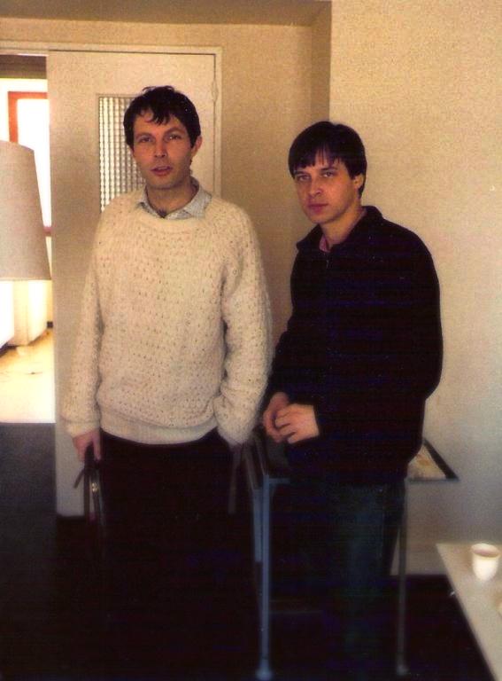 Paul avec Jean-Louis Bouttes (1984)