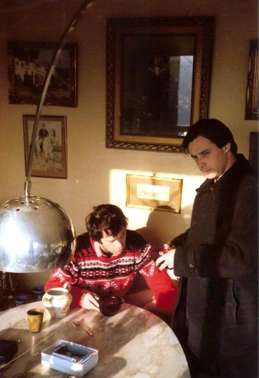 Paul avec Jean-Louis Bouttes (1980)