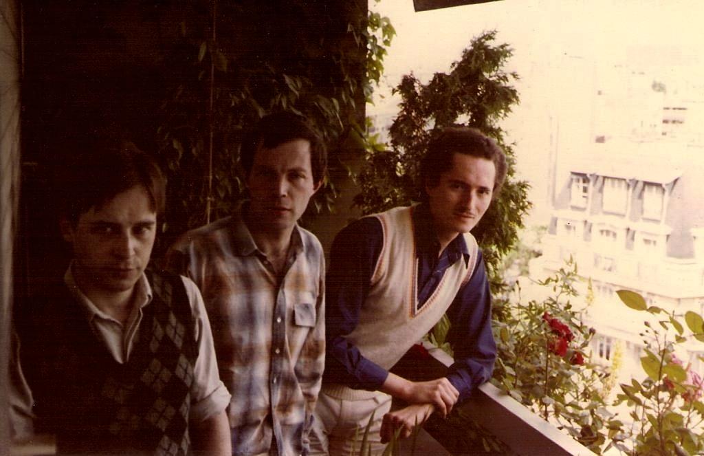 Paul avec Mongie Baccouche et Jean-Louis Bouttes