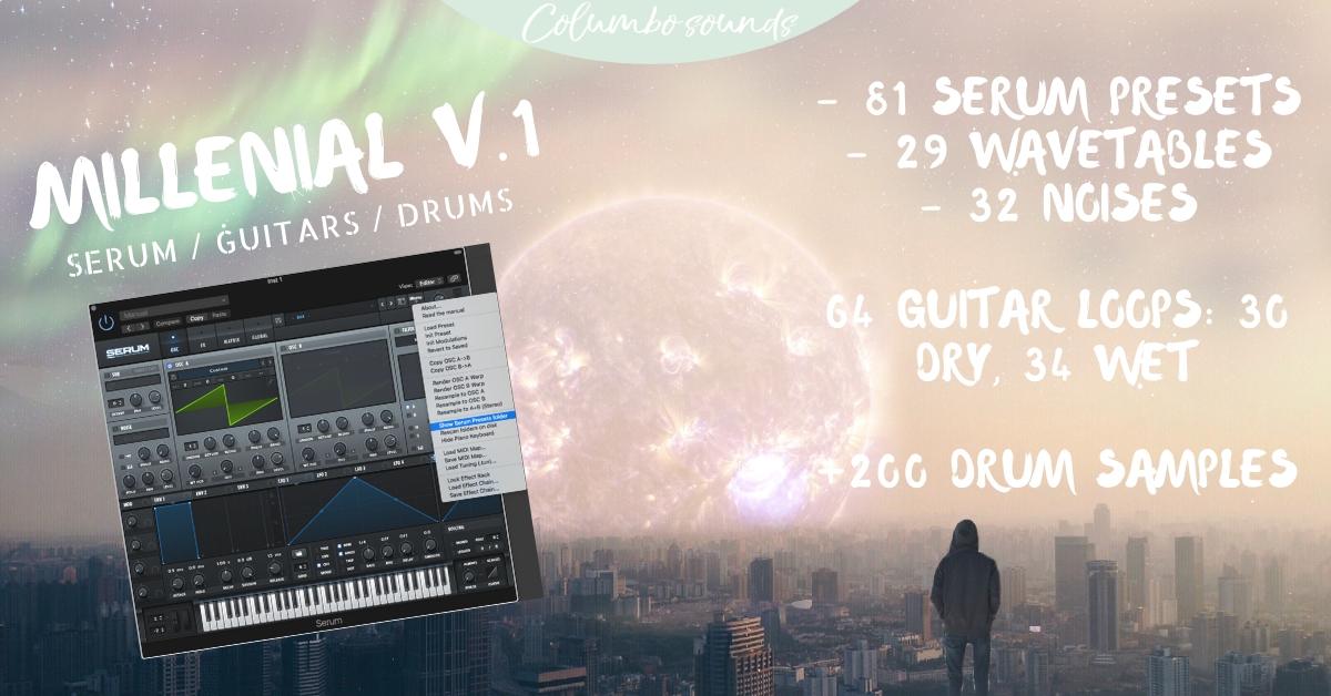 Columbo Sounds - Innovative Samplepacks, Serum & Massive