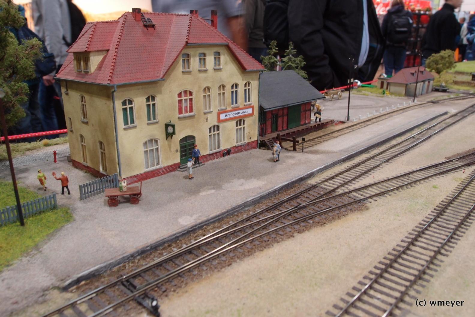 Kleibahn in der Altmark in H0