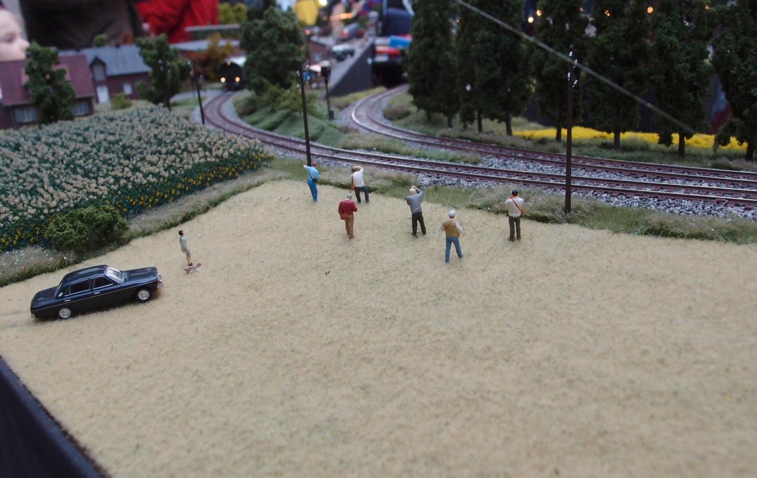 Eisenbahnverrückte Preiserlein Freunde Tecklenburger Nordbahn