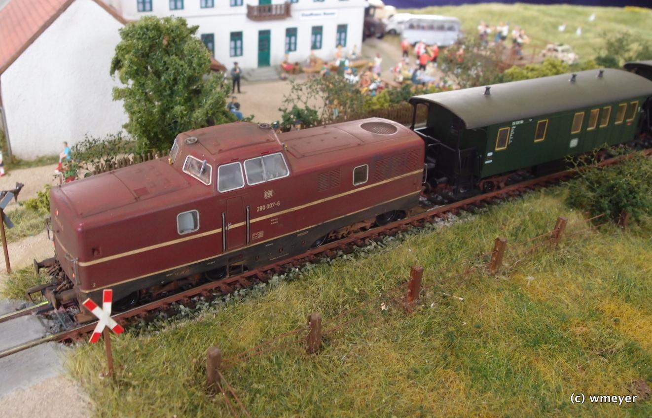 Vorbildliche Bahn in H0 aus Bayern