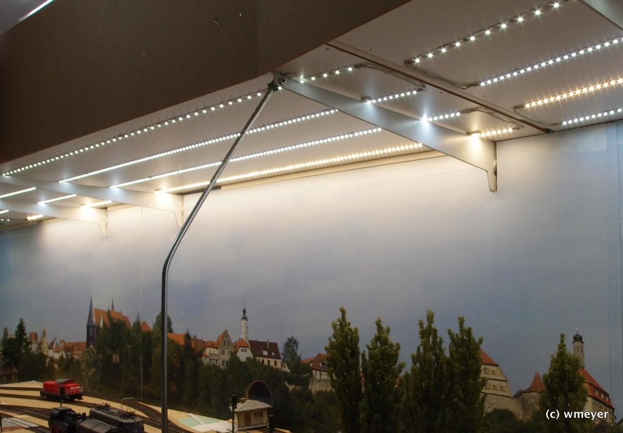 Halterung für die Blende/Lichtkästen