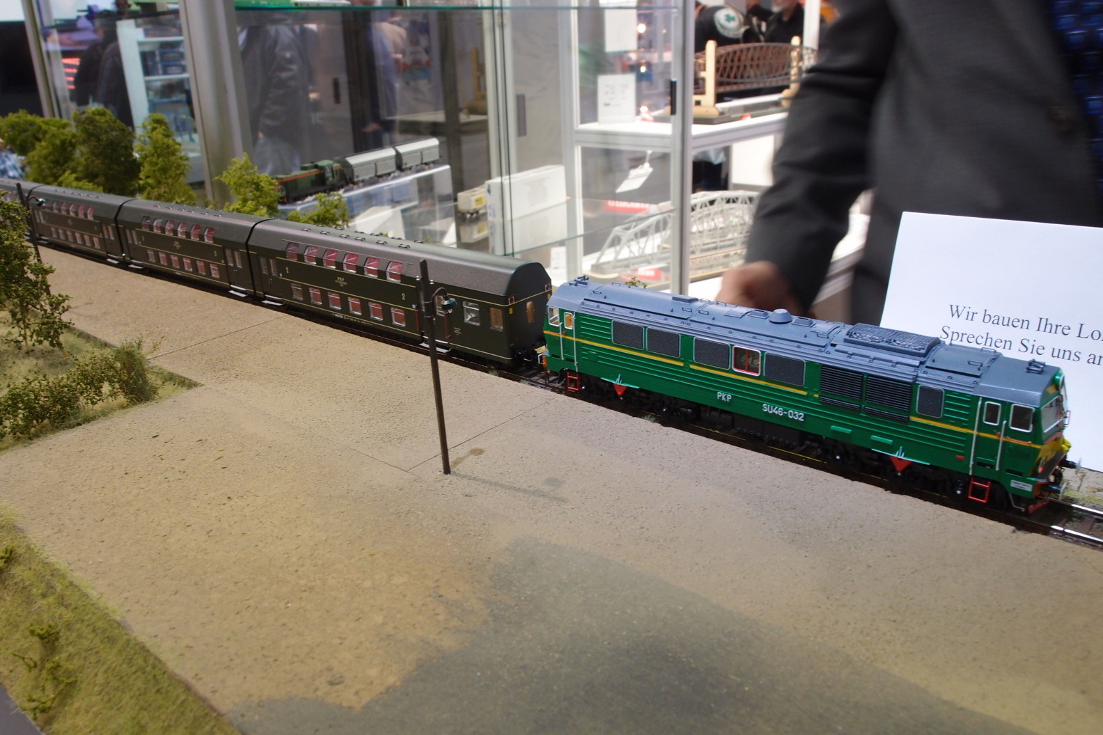 Spur H0 Diesellok PKP bei Schlesienmodelle