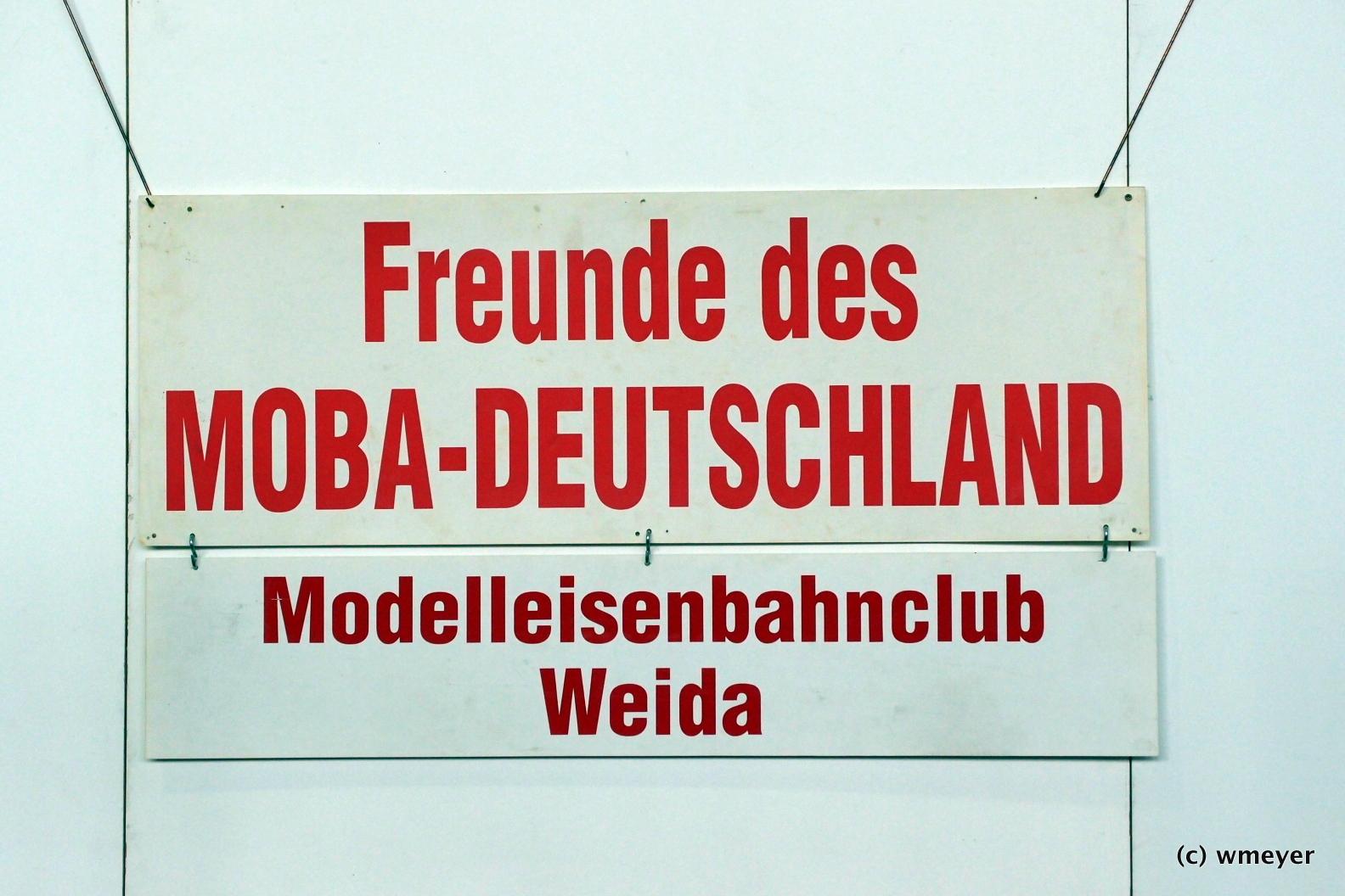 MEC Weida mit DR-Motiven