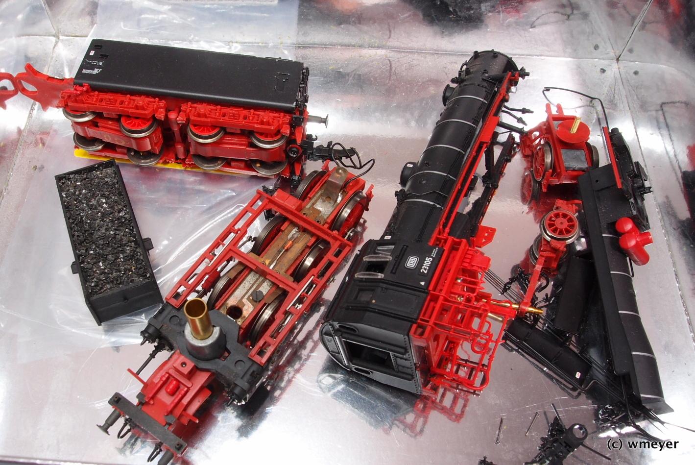 Roco BR 23 als 3D-Puzzle