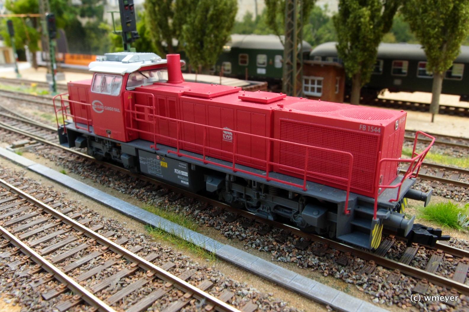 MAK G1206 Euro Cargo Rail