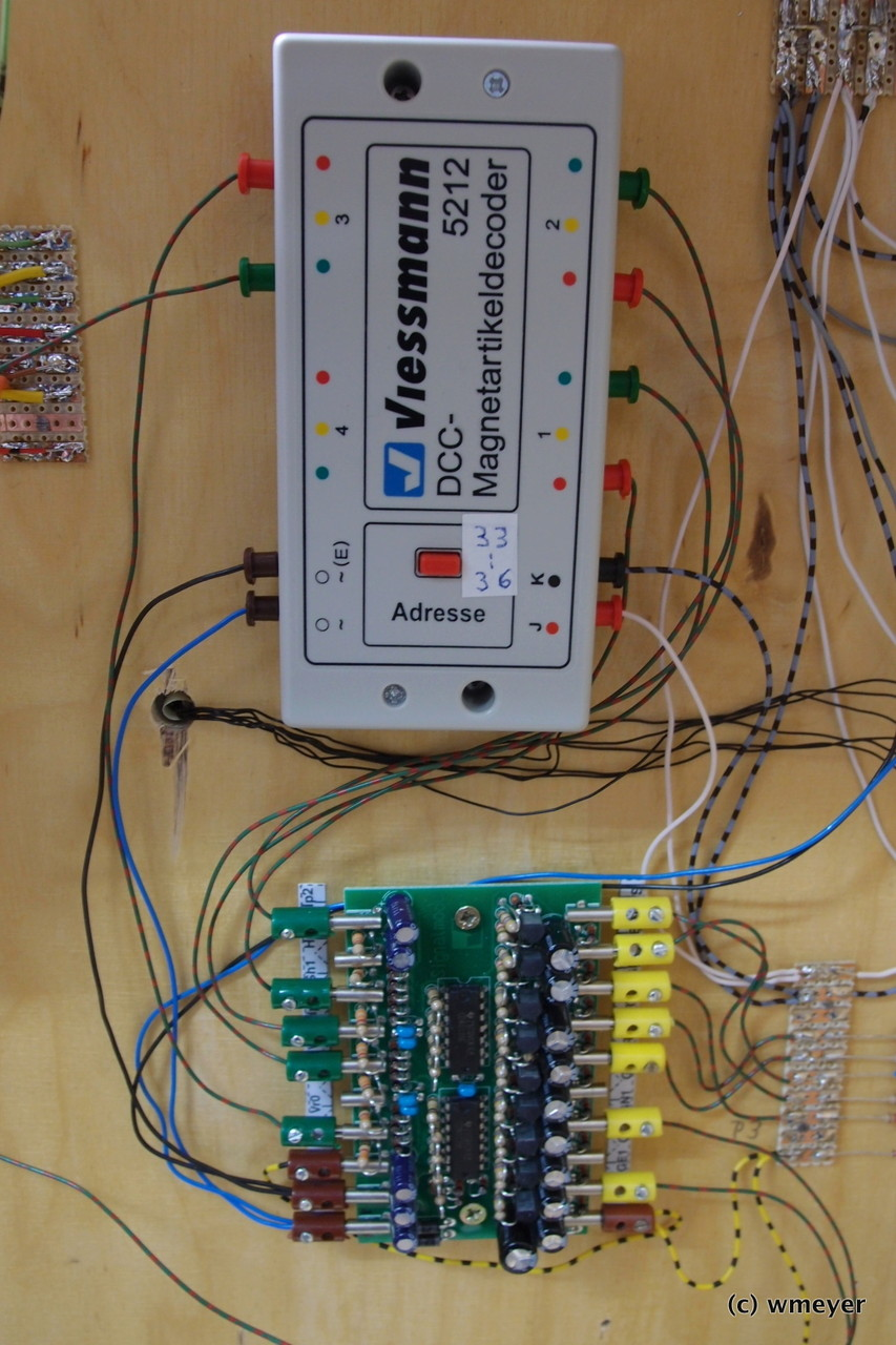 Viessmann Signalbildsteuerung und Magnetartikeldecoder