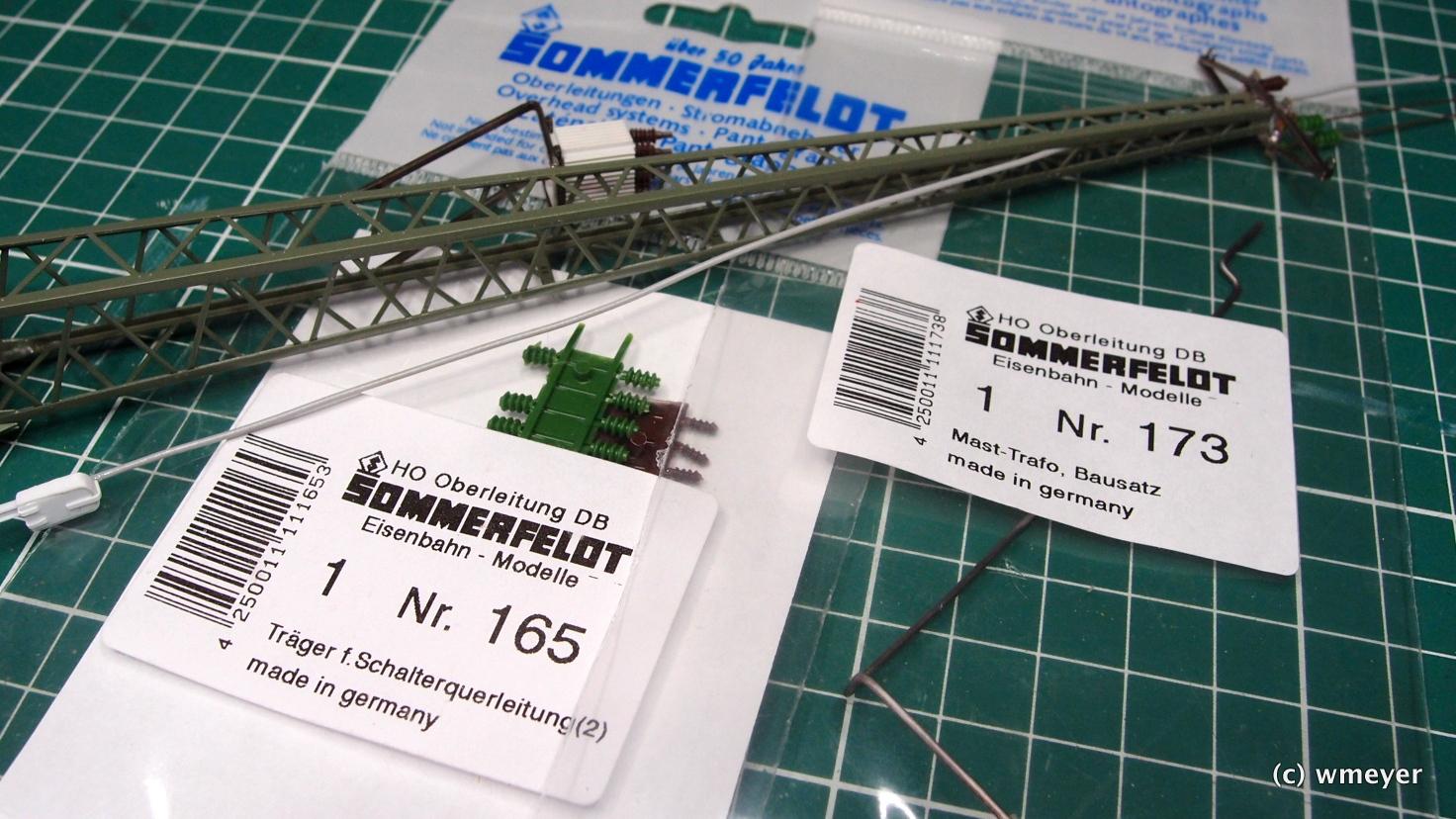 2x Sommerfeldt und Kunststoffreste