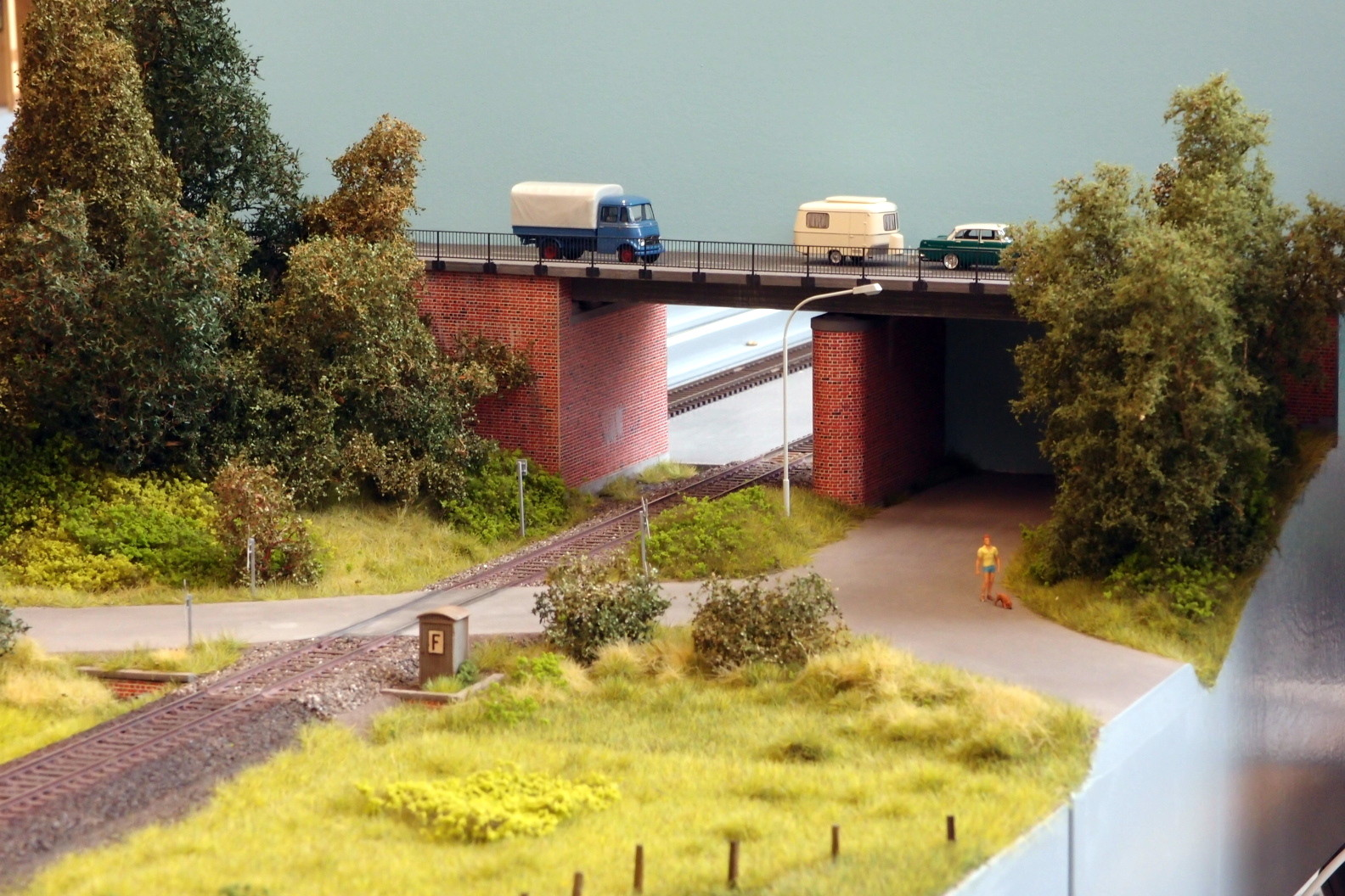 Fremo H0, Durchfahrt zum Betriebsbahnhof