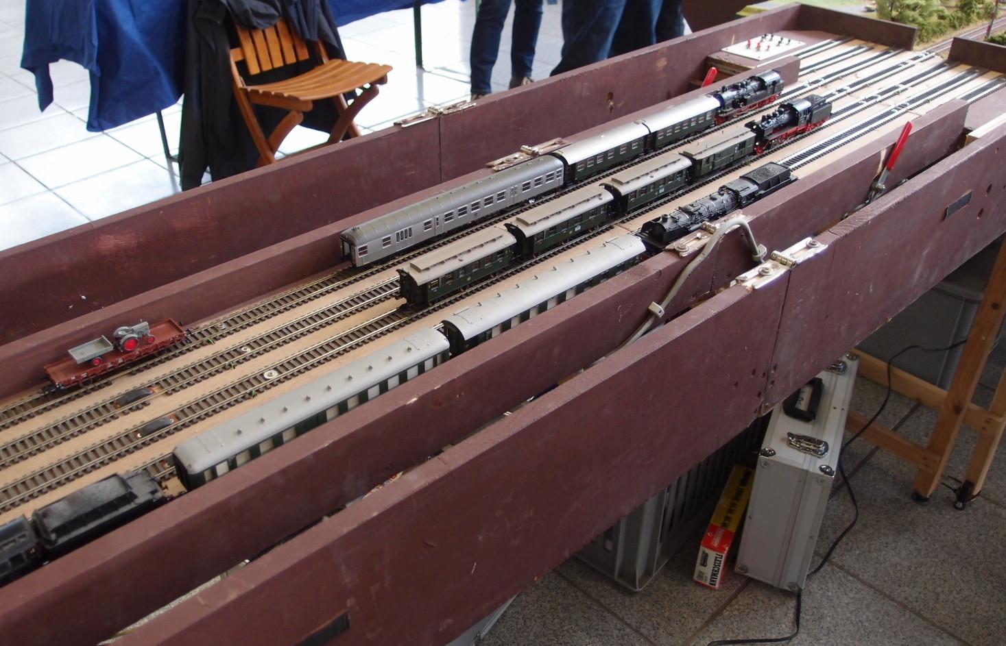 Robuster Abstellbahnhof Diepholzer Eisenbahnfreunde