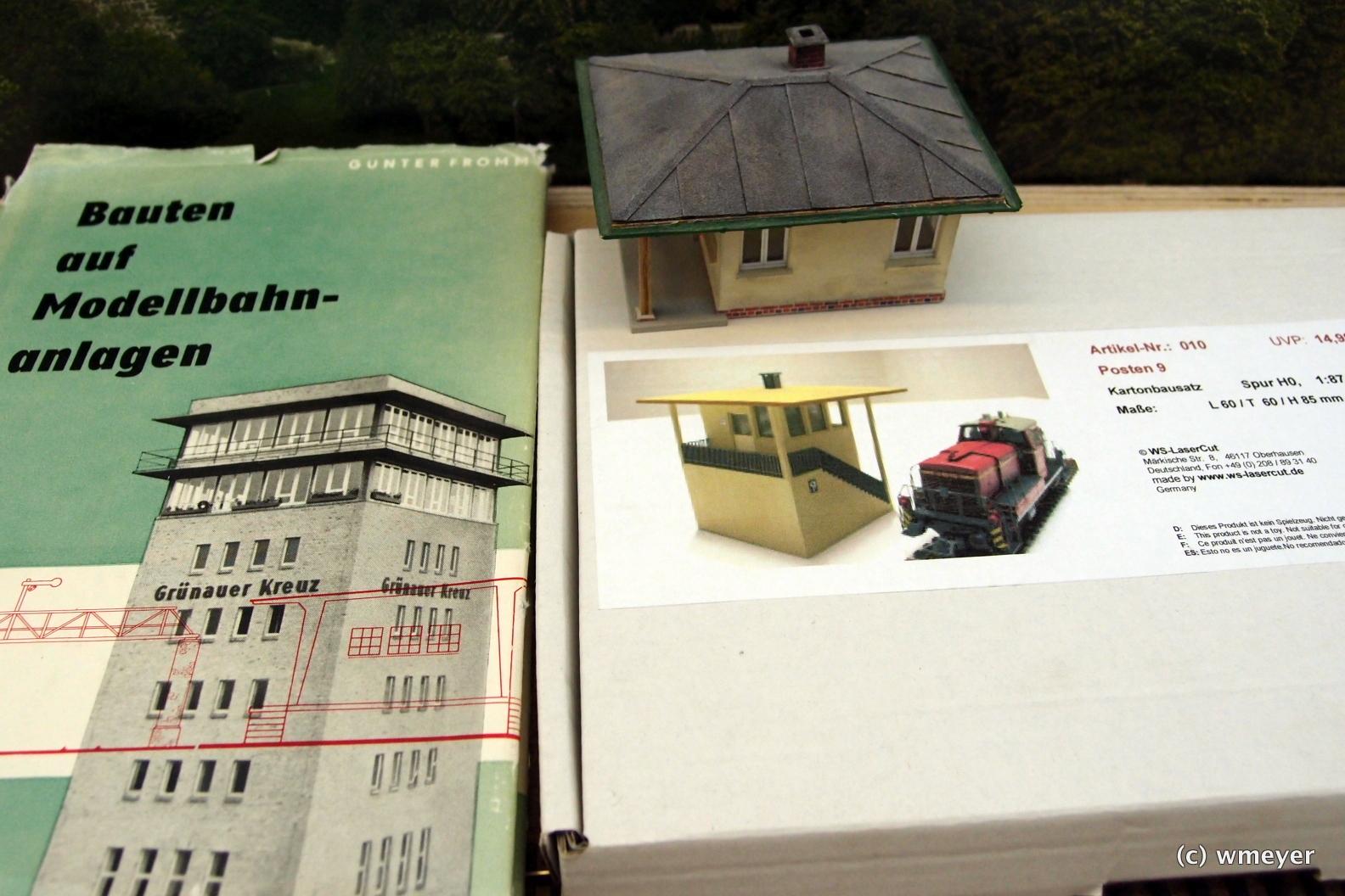 Welches Bahnwärterhaus wird es?