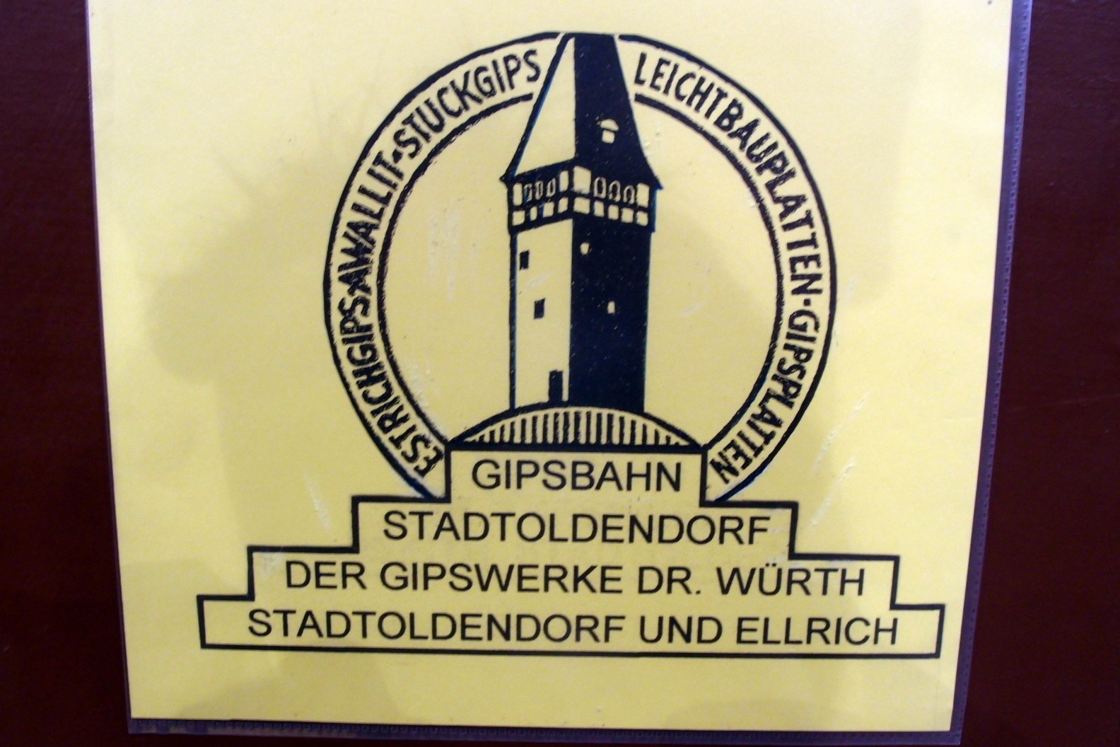 Gipswerke Stadtoldendorf in 0e