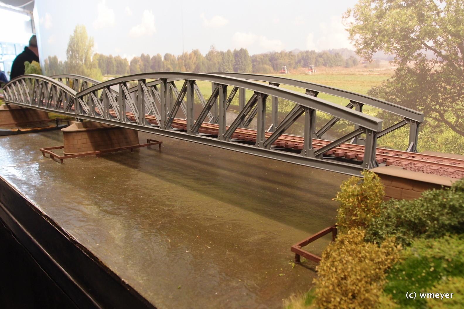 Spur 0 Worpswede Brücke nach Vorbild