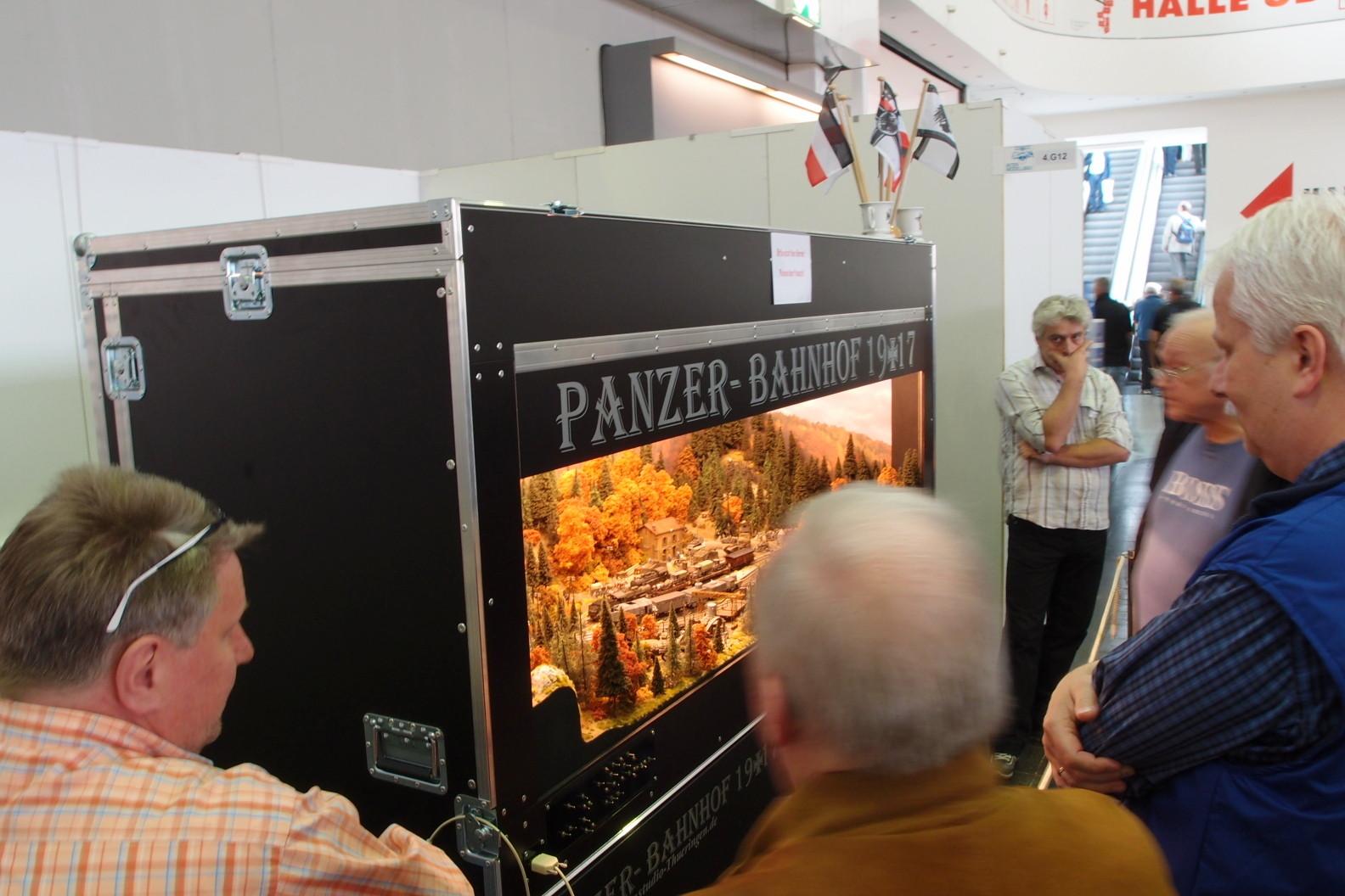 Diorama Panzerverladung
