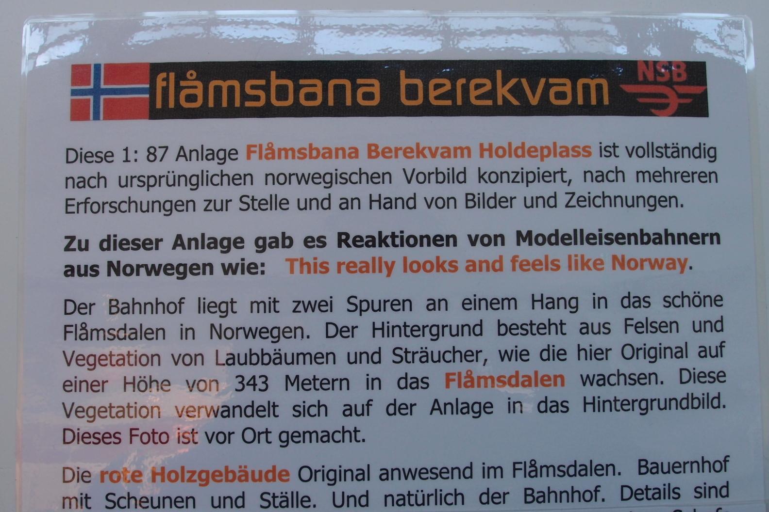 Flamsbana Norwegen in H0
