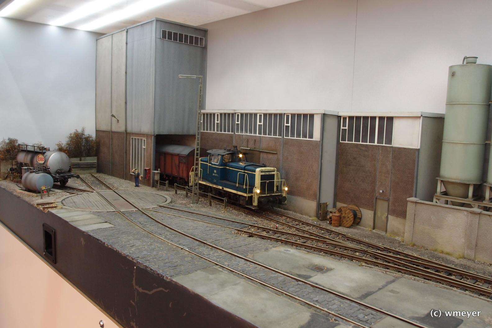 Spur I Diorama bei KM1 Modellbau