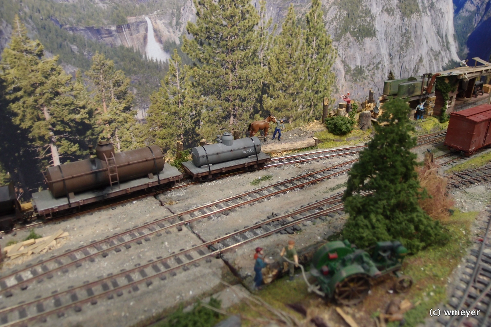 US-Modellbahn in 1:48