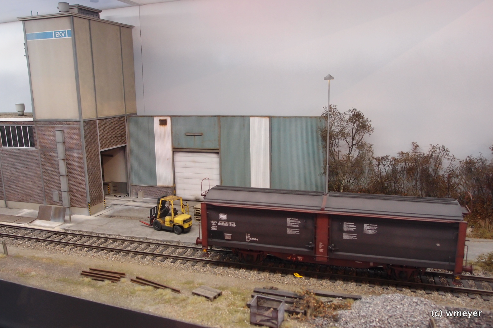 """Industrieanlage """"Vierheim"""" in Spur I"""