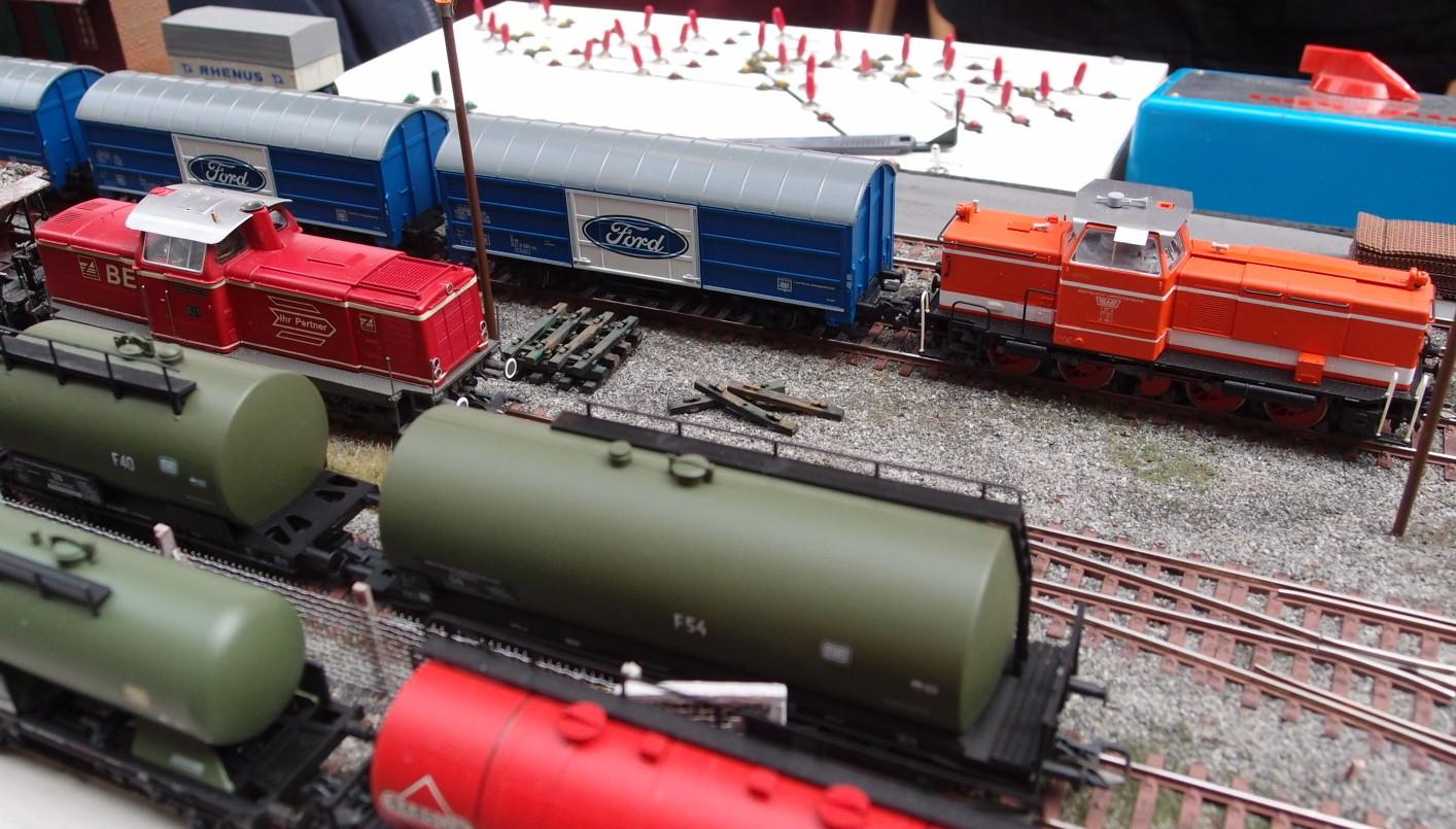 Umlackierte und gesuperte Fahrzeuge Freunde Tecklenburger Nordbahn