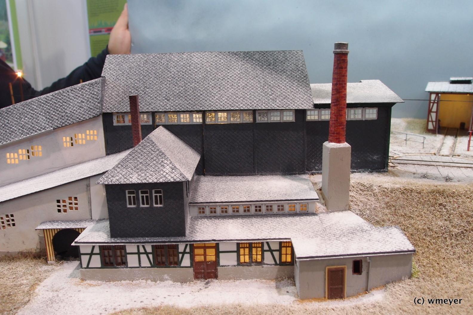Oberweißbacher Bergbahn in H0, Vorbote des nahenden Winters