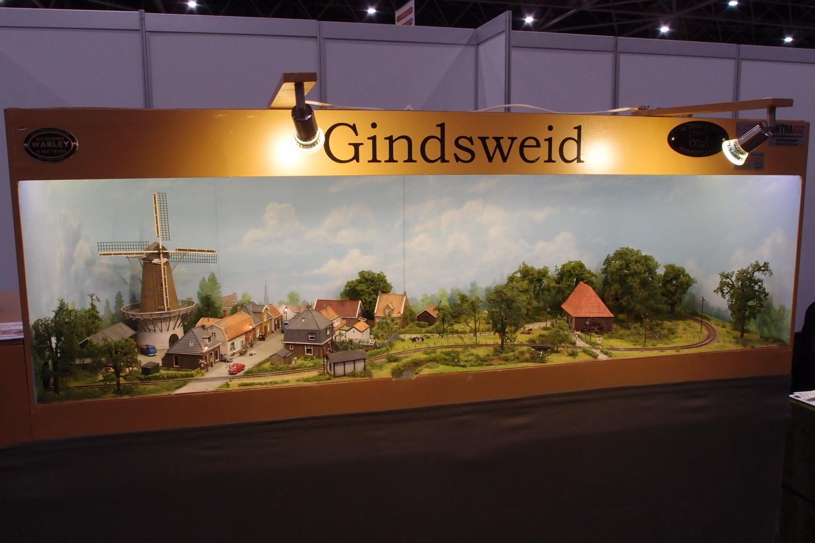 Kleinanlage mit holländischen Motiven