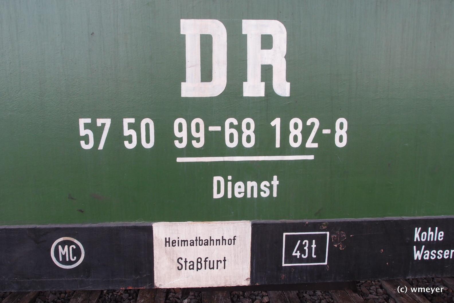Anschriftfeld Dienstwagen